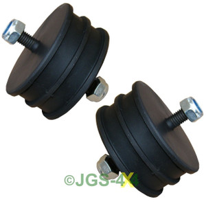 Land Rover Defender Engine Mount Mounting Rubber x2 - ANR1808