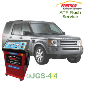 Land Rover Discovery 3 Auto Gear Box ATF Fortron Automatic Gearbox Mega Flush