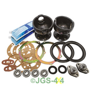 Land Rover Range Rover Classic Castor Corrected Swivel Housings Kit - DA2992