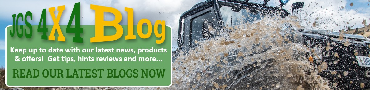 Read all the latest product news and special offer on the JGS4x4 Blog.