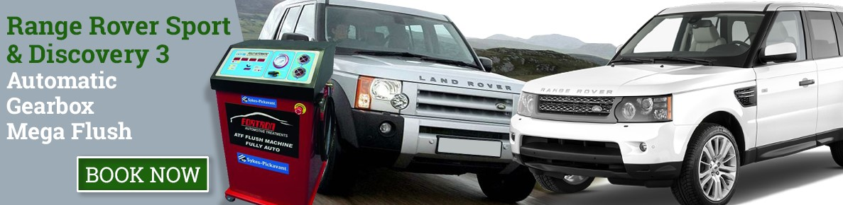 Land Rover Discovery 3 TDV6 & Range Rover Sport 6 Speed ATF Gearbox Flush