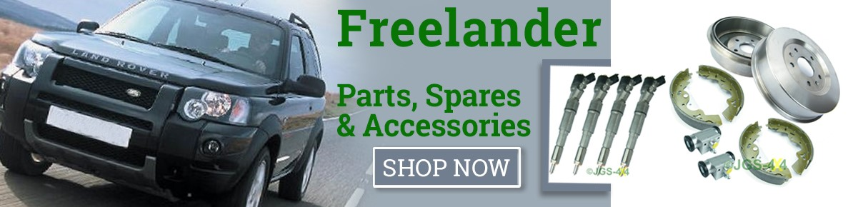 Land Rover Freelander Parts, Spares & Accessories In Stock. UK Mail Order.