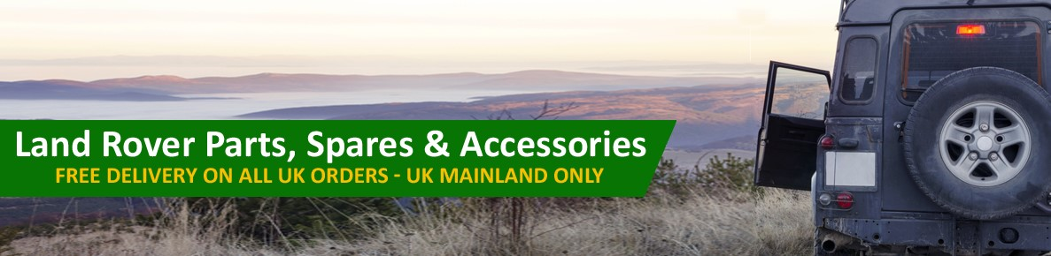 Land Rover Defender Parts, Spares & Accessories In Stock. UK Mail Order.