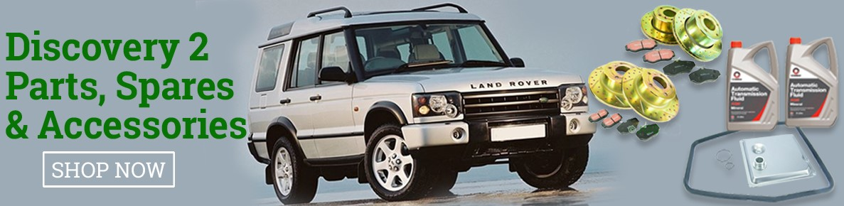 Land Rover Discovery 2 Parts, Spares & Accessories In Stock. UK Mail Order.