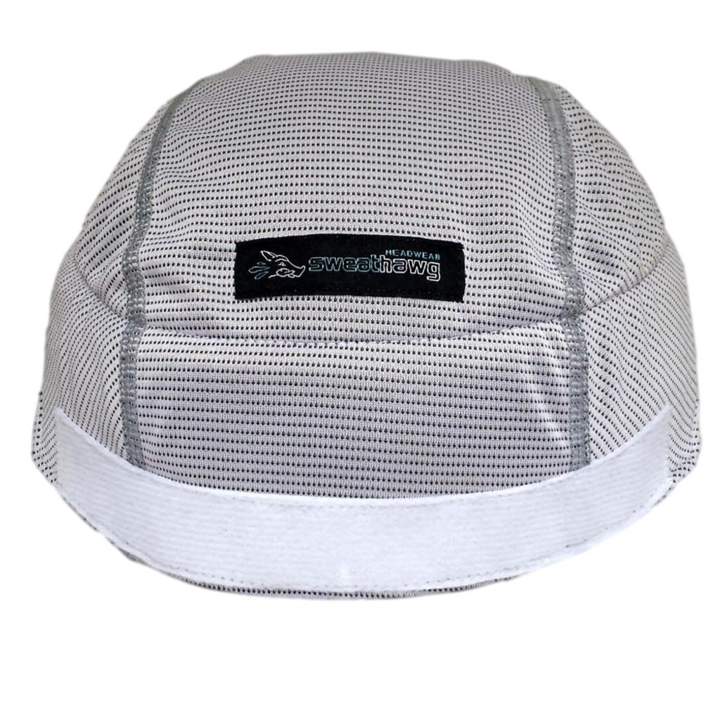SweatHawg Helmet Liner X² - Hook and Loop in Ash White