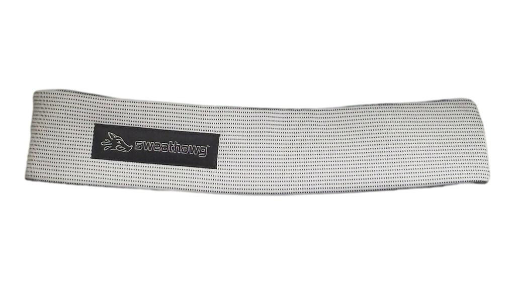 SweatHawg Headband - Ash White