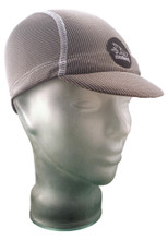 Cycling Cap in Stormy Grey