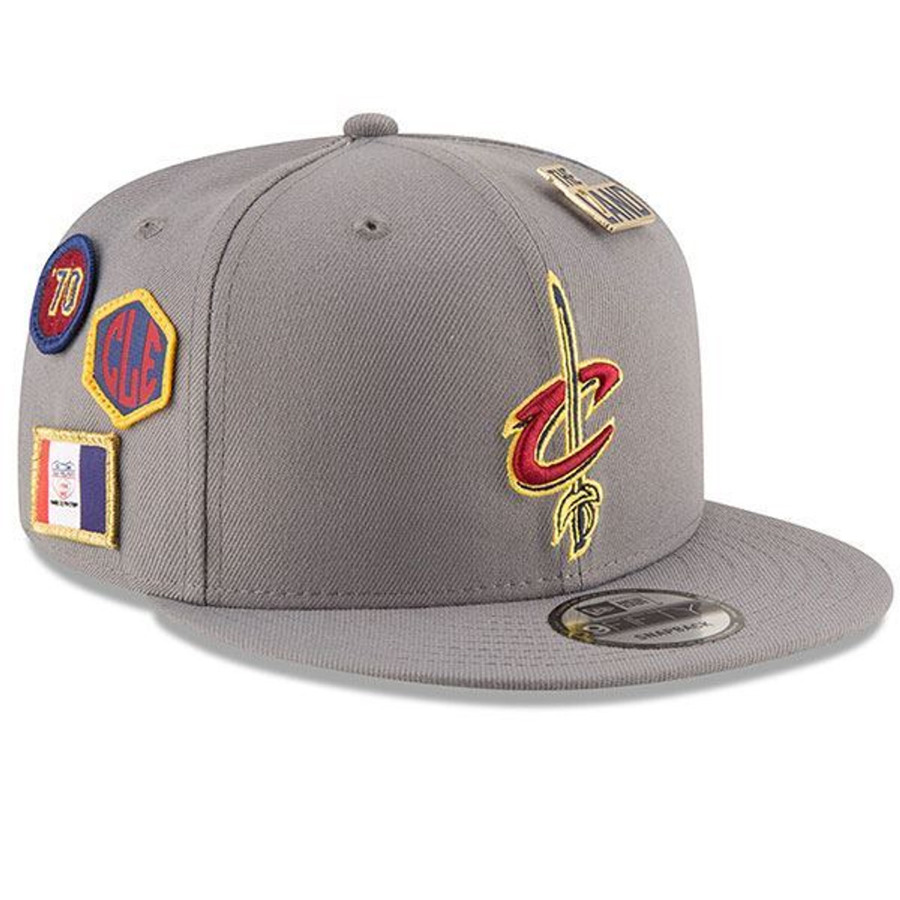 Youth 18-19 Draft Series Gray Snapback Cap - Cleveland Cavaliers 0b727bbd789