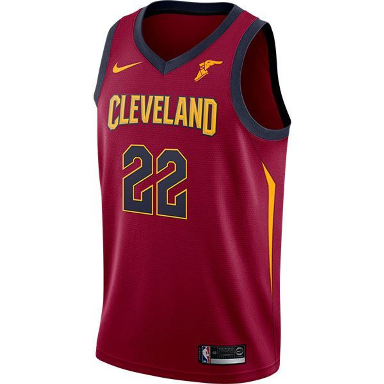 c6d01bc9 ... authentic wine 22 larry nance jr. jersey with goodyear wingfoot 46f25  8a995