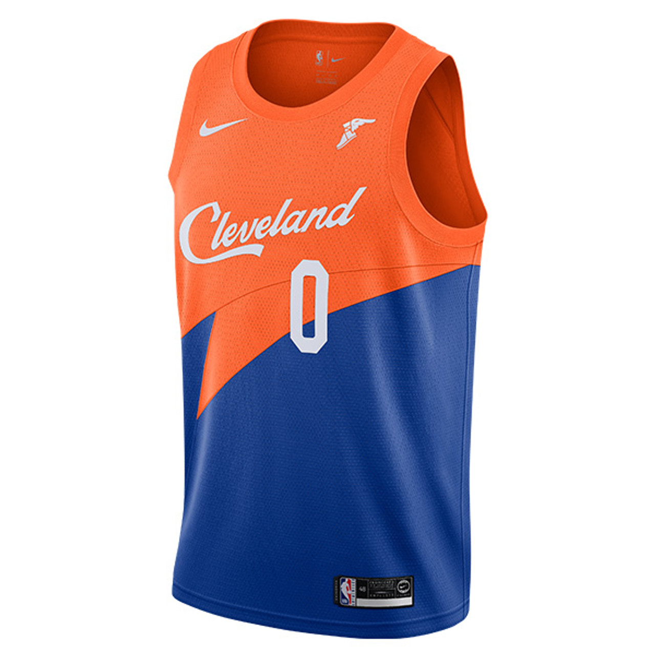 0511411f492 ... usa royal blue orange kevin love cleveland city edition swingman jersey  by nike 00d03 e237b