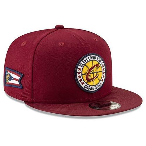 Big Kids 18-19 TipOff Series Snapback Cap - Cleveland Cavaliers 824ed020190