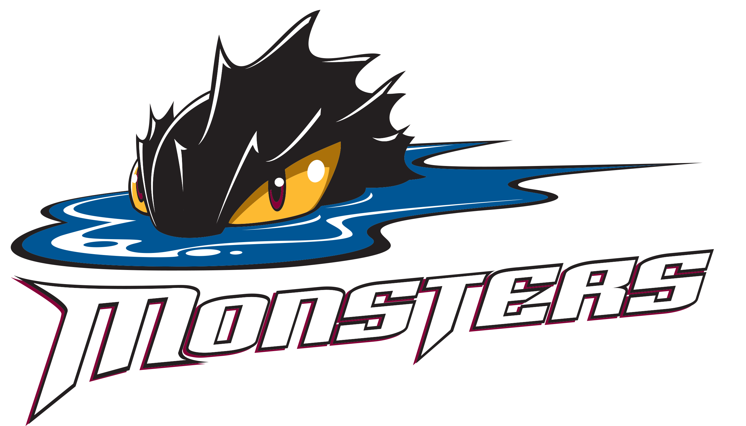 Cleveland Monsters Hockey Logo