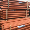 3m 110mm sewer pipe in pallet