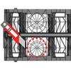 RAINBOX 3S cut sides to suit pipe diameter