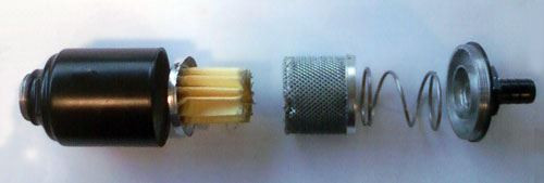 Oil Mist Eliminator, Exhaust Filter, 3/8 NPT Male fitting