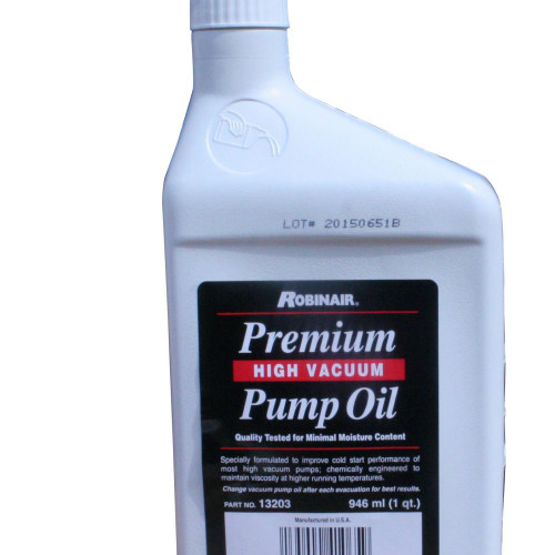 RA13203 Robinair Premium Vacuum Pump Oil (946ml)