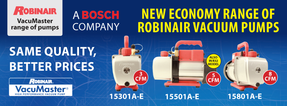Robinair 2 Stage Vacuum Pumps