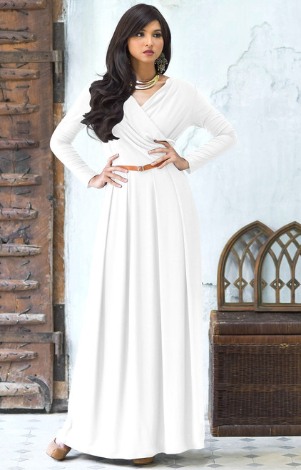 Maxi with Sleeves