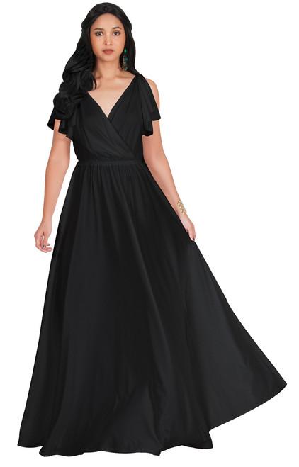 KOH KOH Bridesmaid Wedding Formal Maxi Dress Gown - NT333 - KOH KOH ...