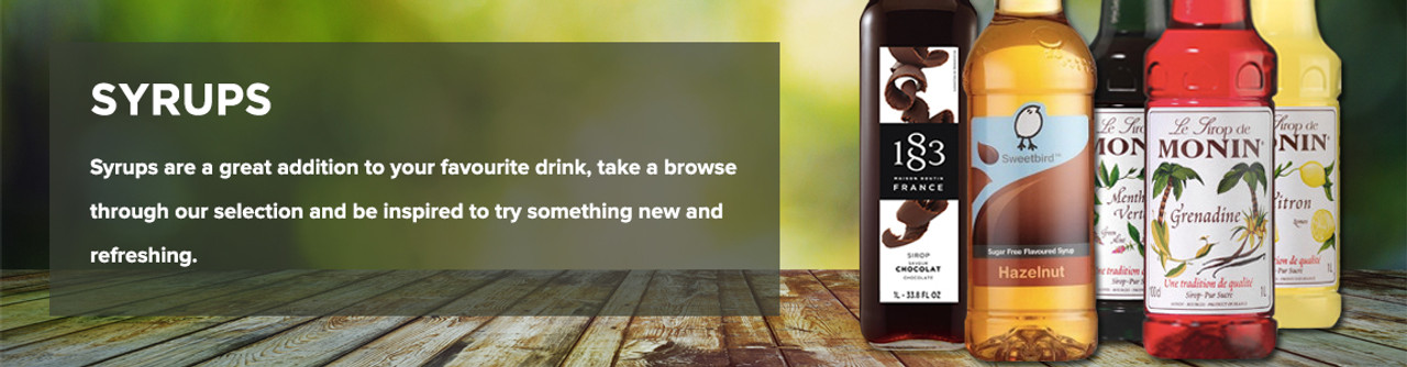 Syrups banner