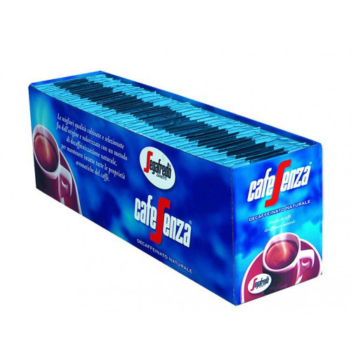 Segafredo Cafe Senza Decaffeinated Roasted Coffee Sachets