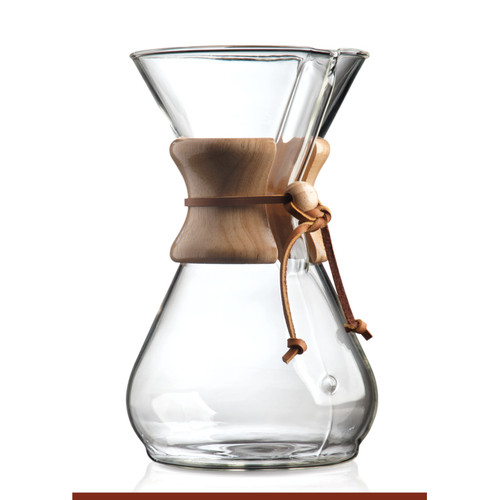 6 Cup Classic Wooden Collar Coffee Brewer