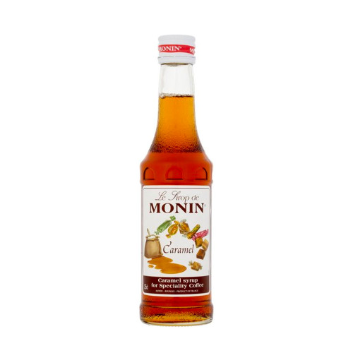 A must-stock, MONIN Caramel syrup is one of the most popular and versatile flavours in the MONIN range.
