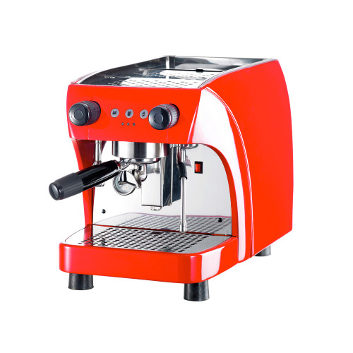 The Futurmat Ruby is a non plumbed one group espresso machine which produces Barista quality coffee - perfect for domestic use where space is an issue. Red