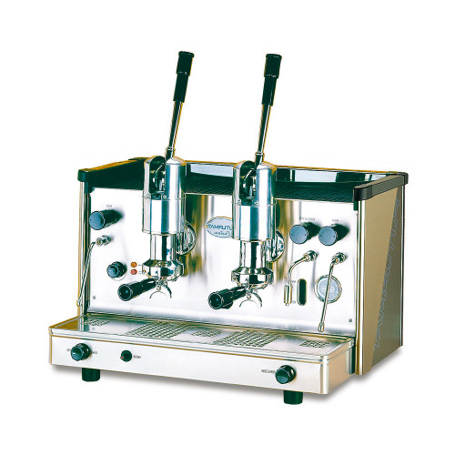 Available as a 2 group gas fired model the Palanca or Lever machine uses an extraction system based on a manually operated, thermo compressed brew chamber.