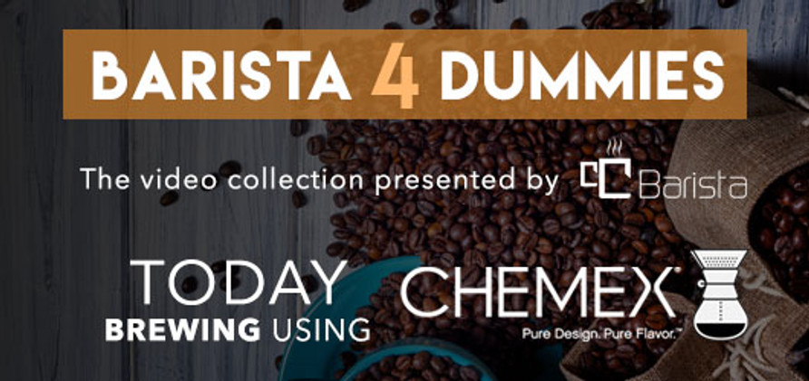 Barista 4 Dummies: Brewing with Chemex