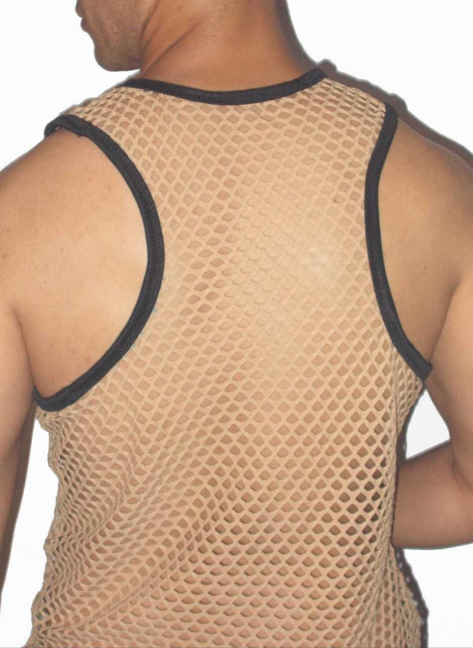 netting tank top