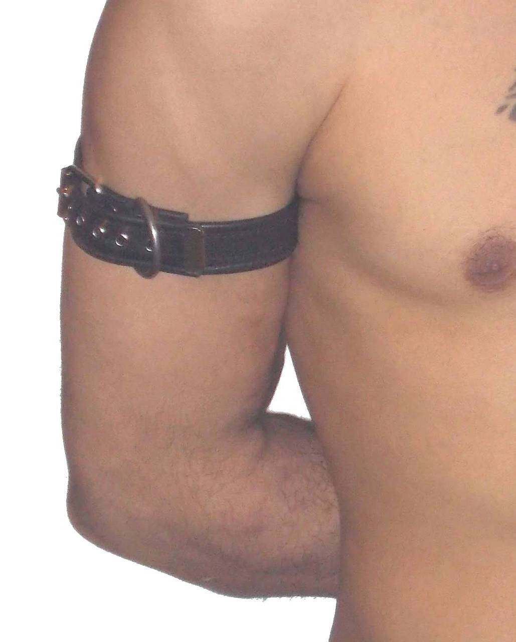 buckle leather arm band