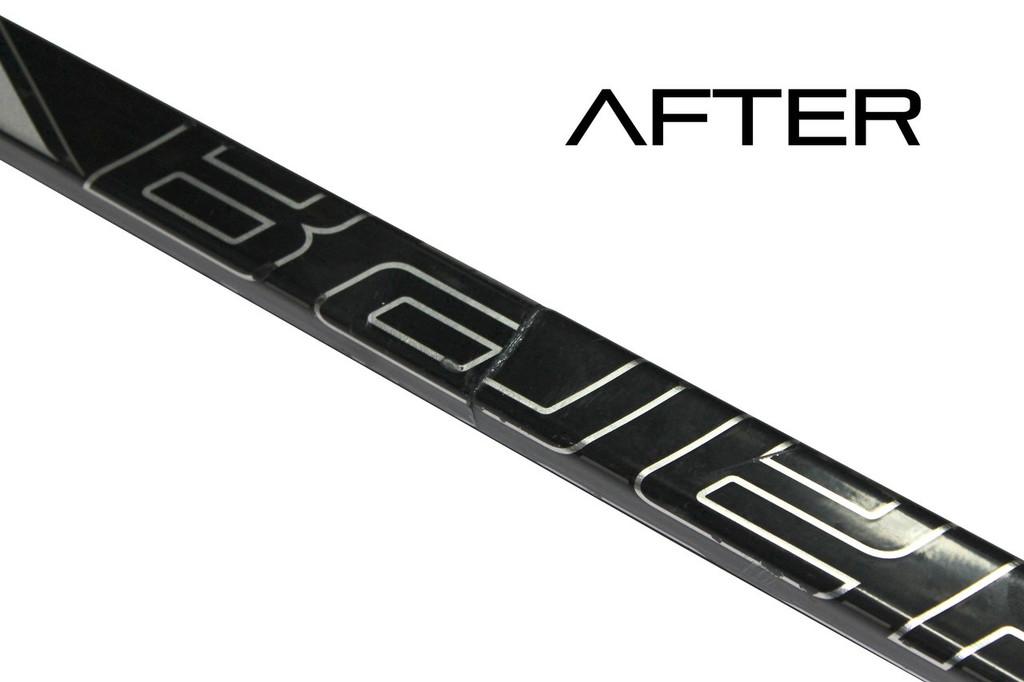 Junior Hockey Stick Repair System - Do-It-Yourself Stick Repair System from Bison Hockey Sticks - After