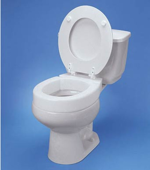 Maddak Tall Ette Hinged Elevated Elongated Toilet Seat