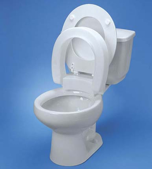 2 inch toilet seat. Maddak Tall Ette Hinged Elevated Toilet Seat for Elongated Commodes  3 Inch 350
