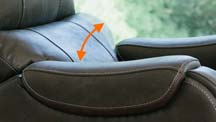 The VivaLIFT Powered Lumbar allows you to personalize your lumbar comfort at the touch of a button.