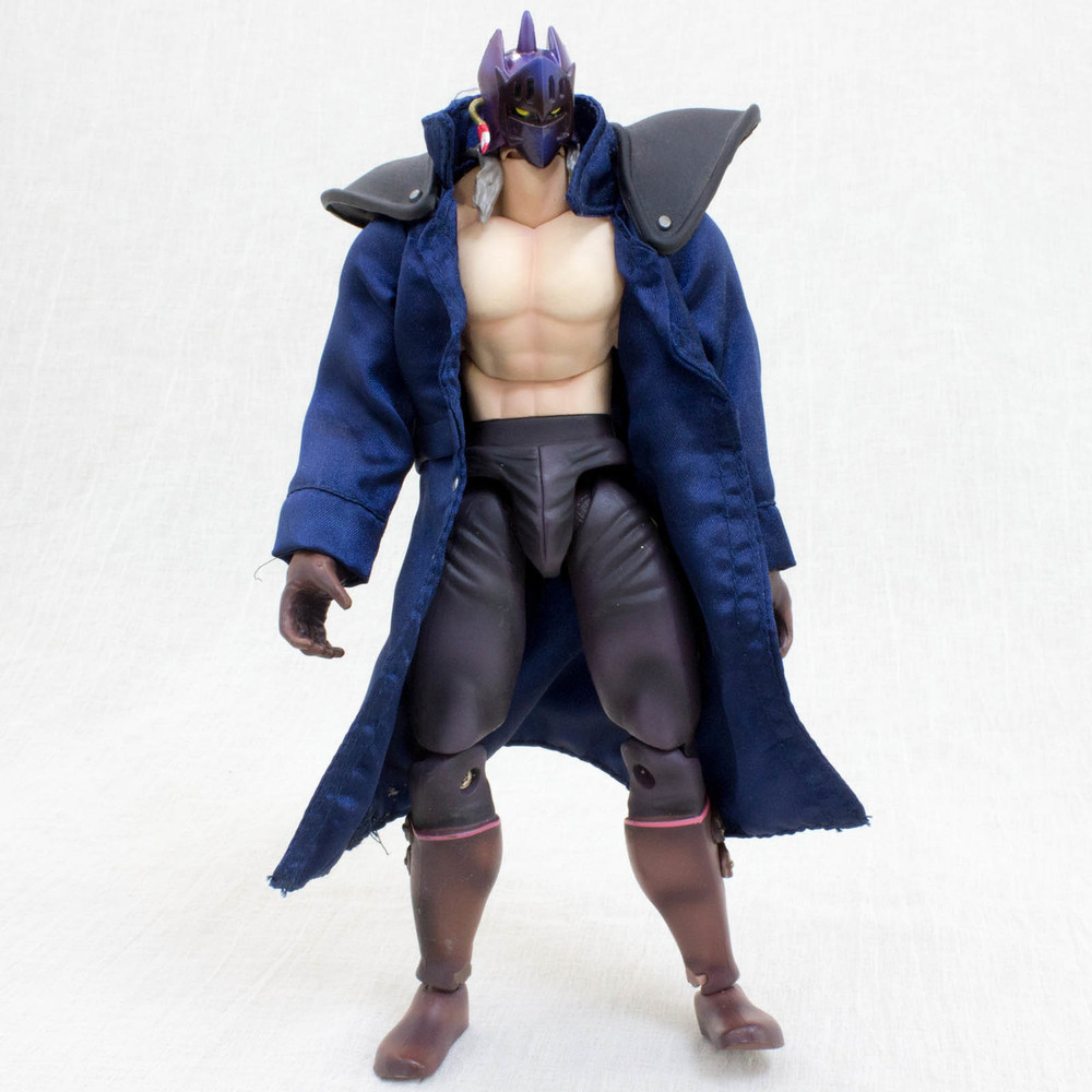 Kinnikuman 2 Opening: Kinnikuman KEVIN MASK Blue Jacket 2nd Generation Romando