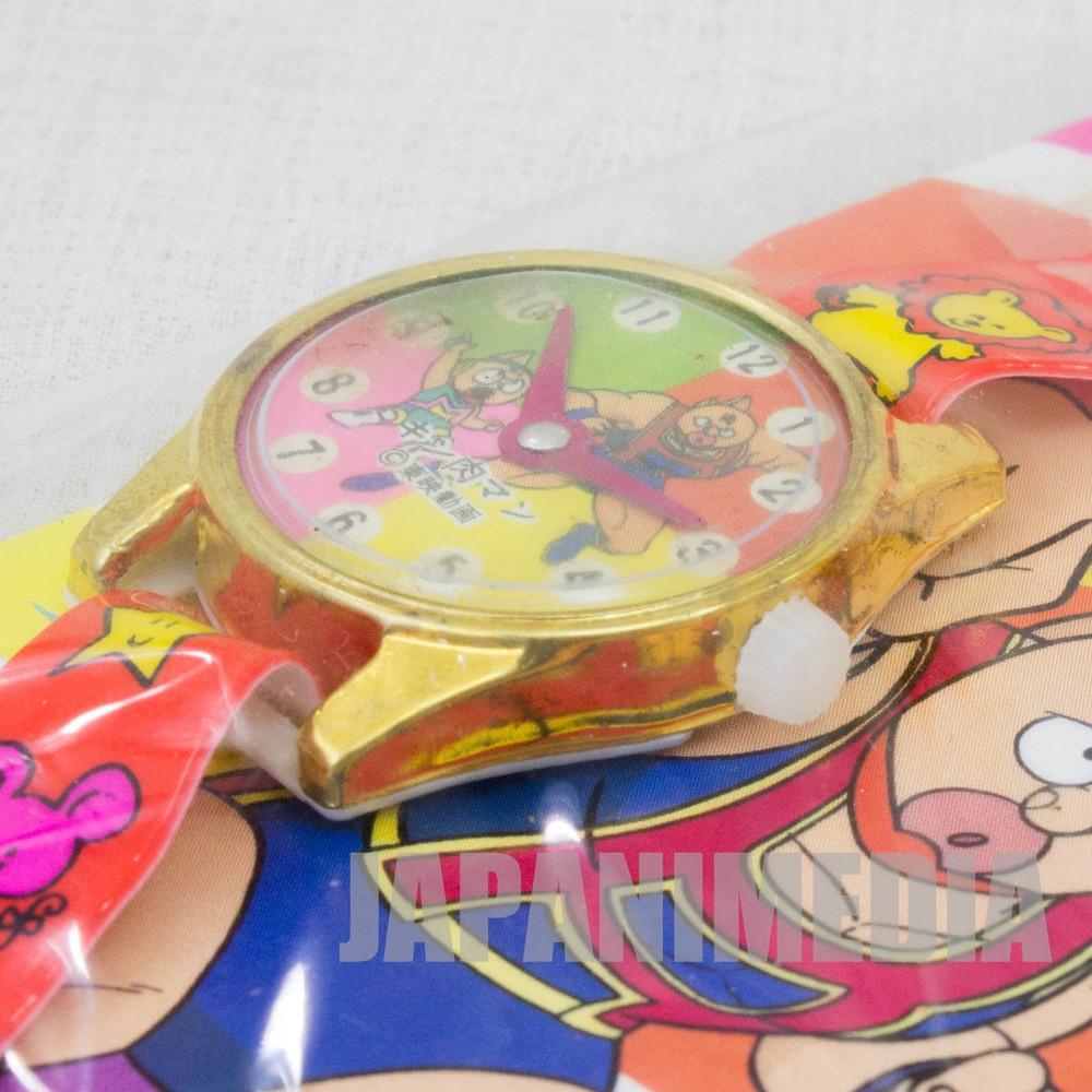 Retro RARE! Kinnikuman Charmy Watch Toy JAPAN ANIME ULTIMATE MUSCLE MAN 1