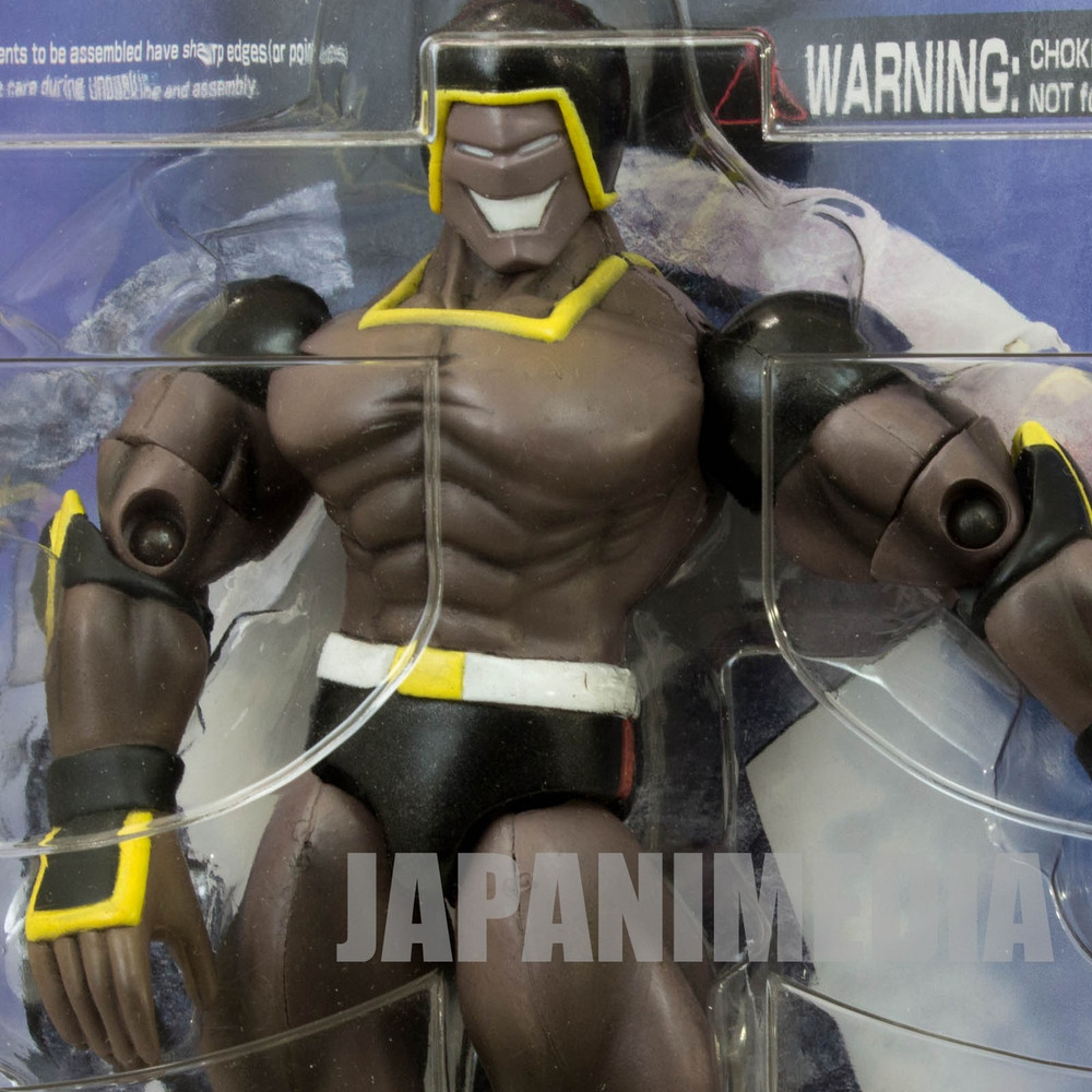 Kinnikuman WARSMAN Romando PVC Action Figure JAPAN ANIME ULTIMATE MUSCLE