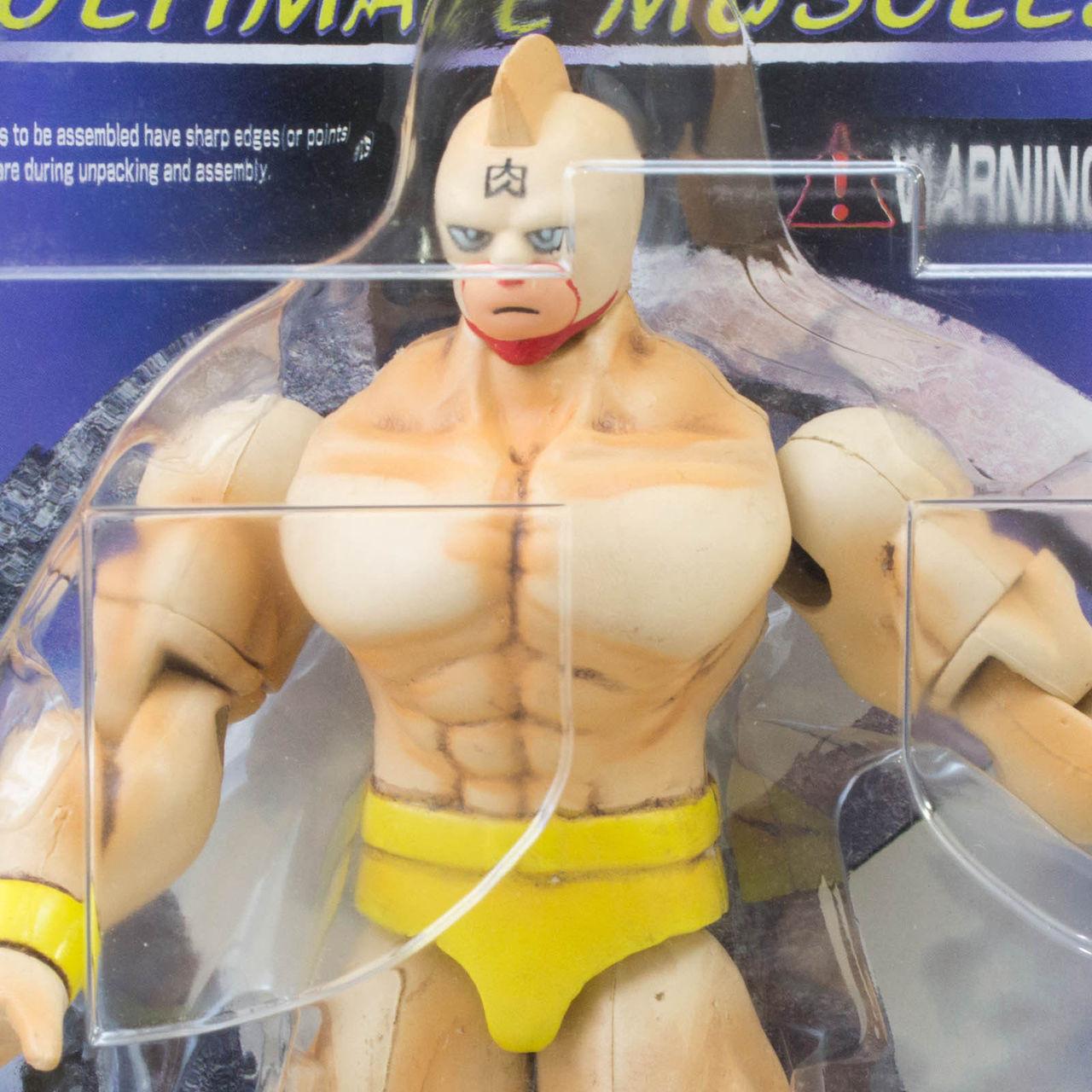 KINNIKUMAN Yellow Romando PVC Action Figure JAPAN ANIME