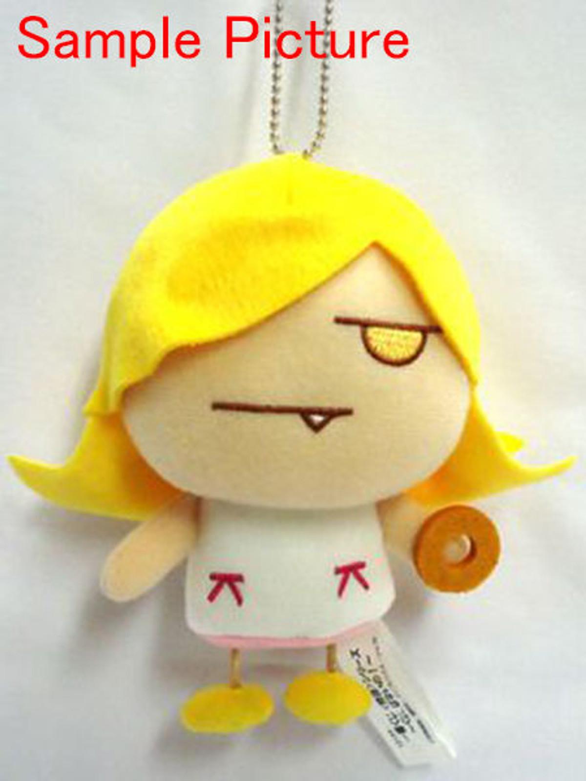 Bakemonogatari Shinobu Oshino Plush Doll Figure w/Ball Chain JAPAN ANIME MANGA