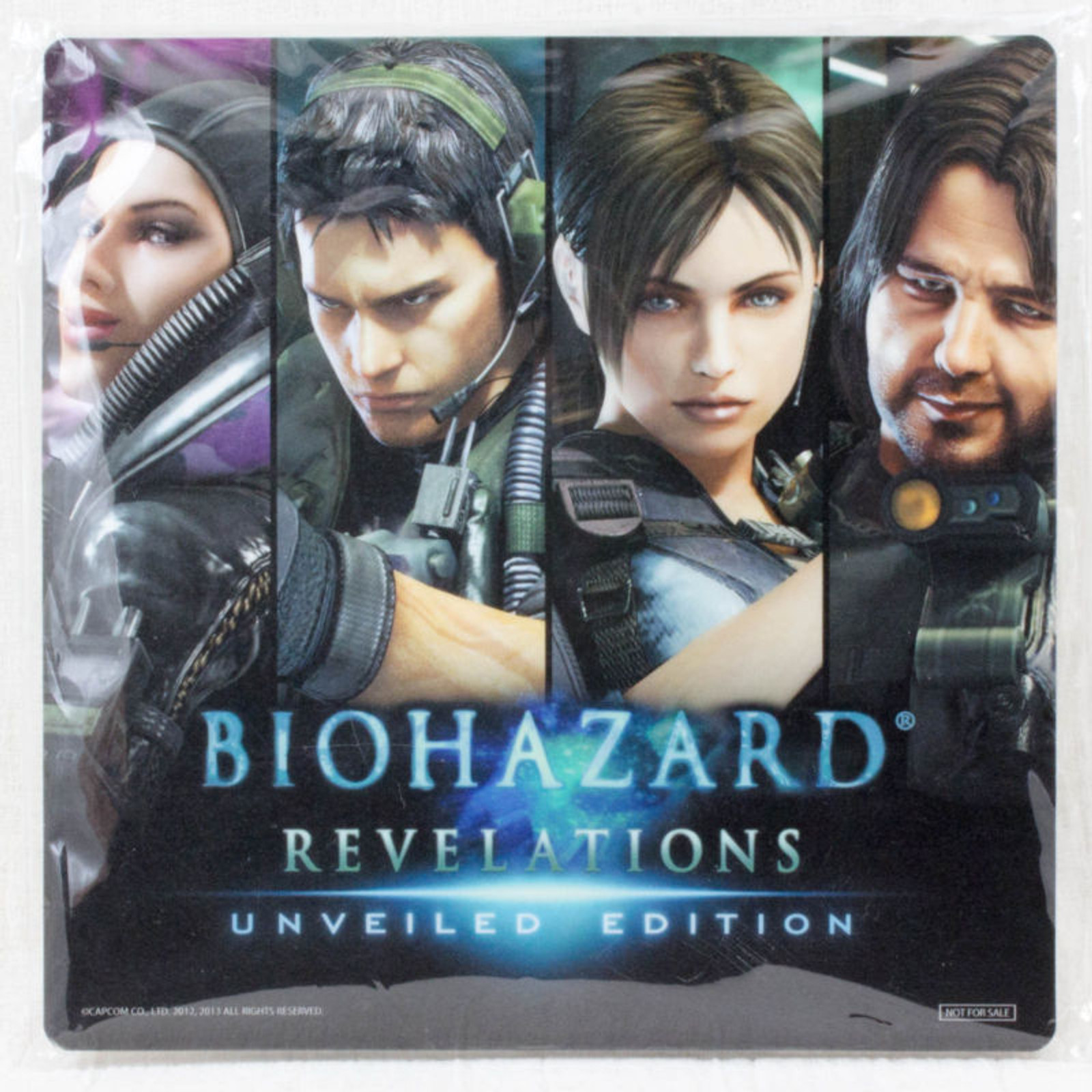 RARE Biohazard Revelations Mouse Pad Limted Item Capcom JAPAN GAME Resident Evil