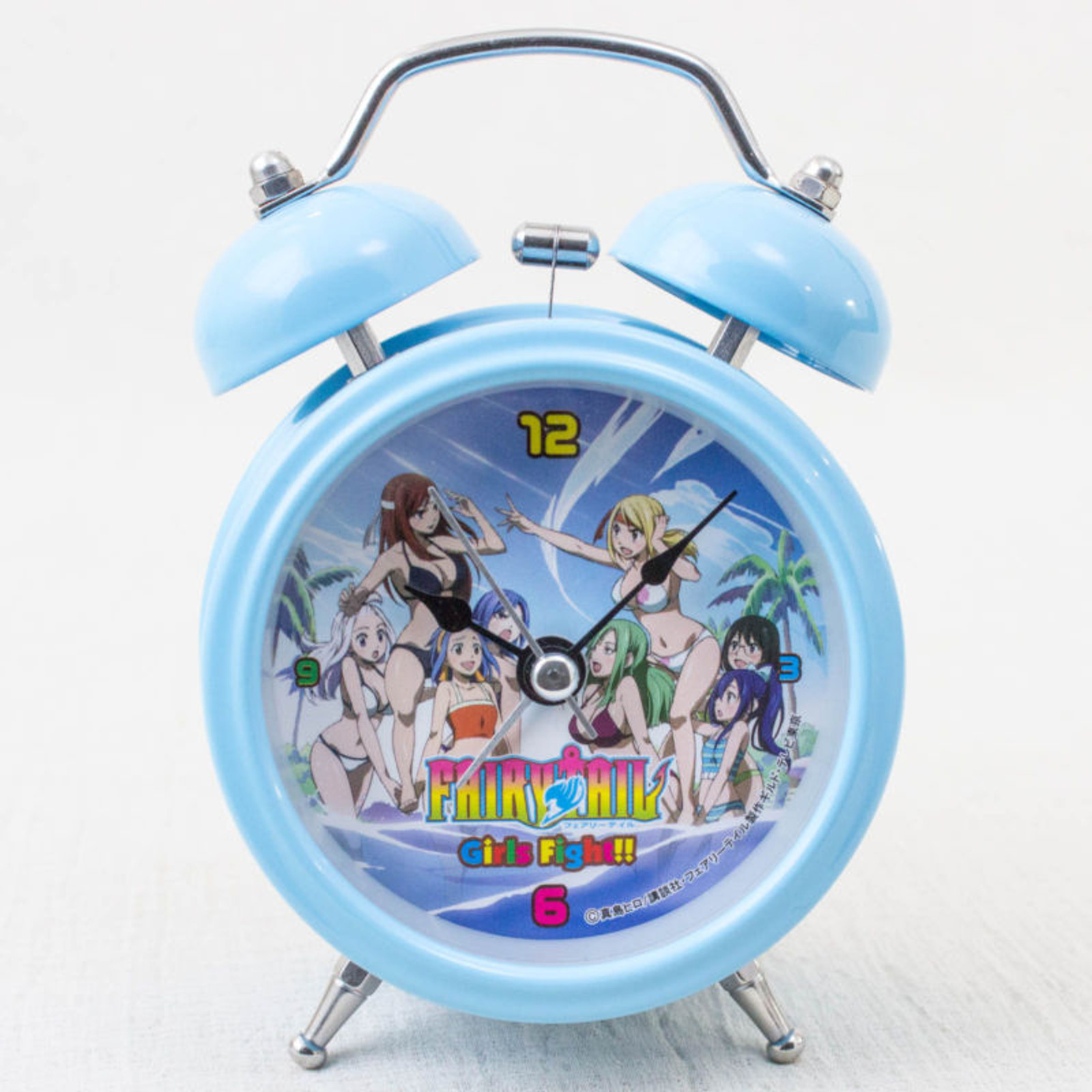 FAIRYTAIL Mini Alarm Clock Light Blue Ver. Taito JAPAN ANIME MANGA