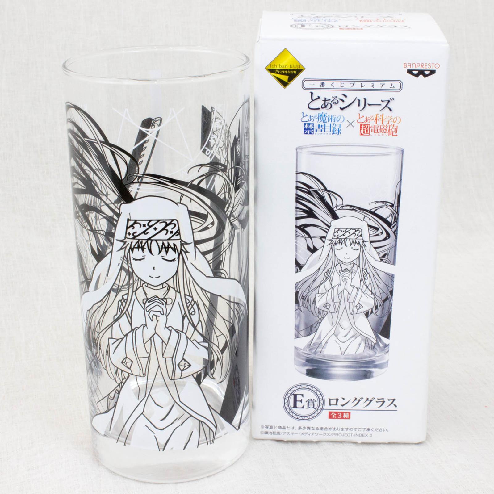 A Certain Magical Index Art Long Glass (To Aru Majutsu no Index) JAPAN ANIME MANGA