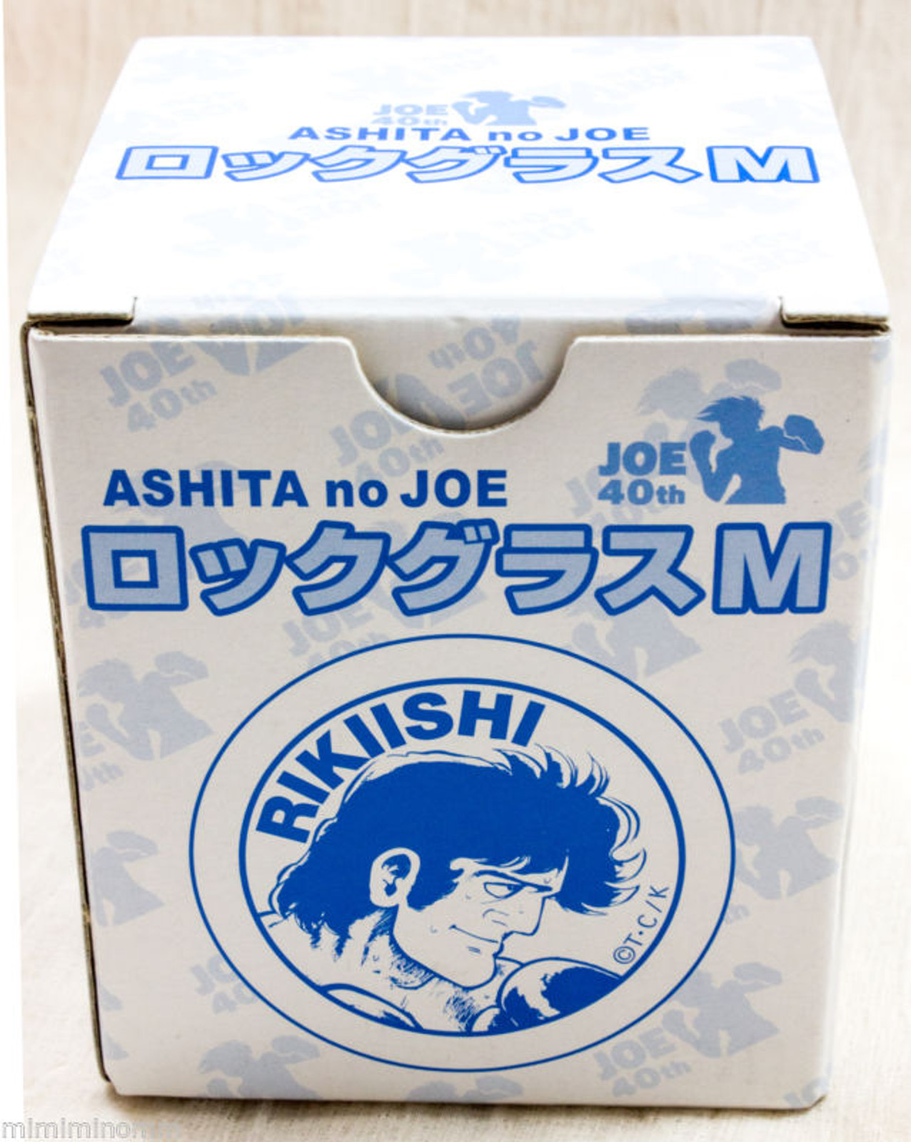 Ashita no Joe ROKIISHI Rocks Glass JOE 40th Anniversary JAPAN ANIME MANGA