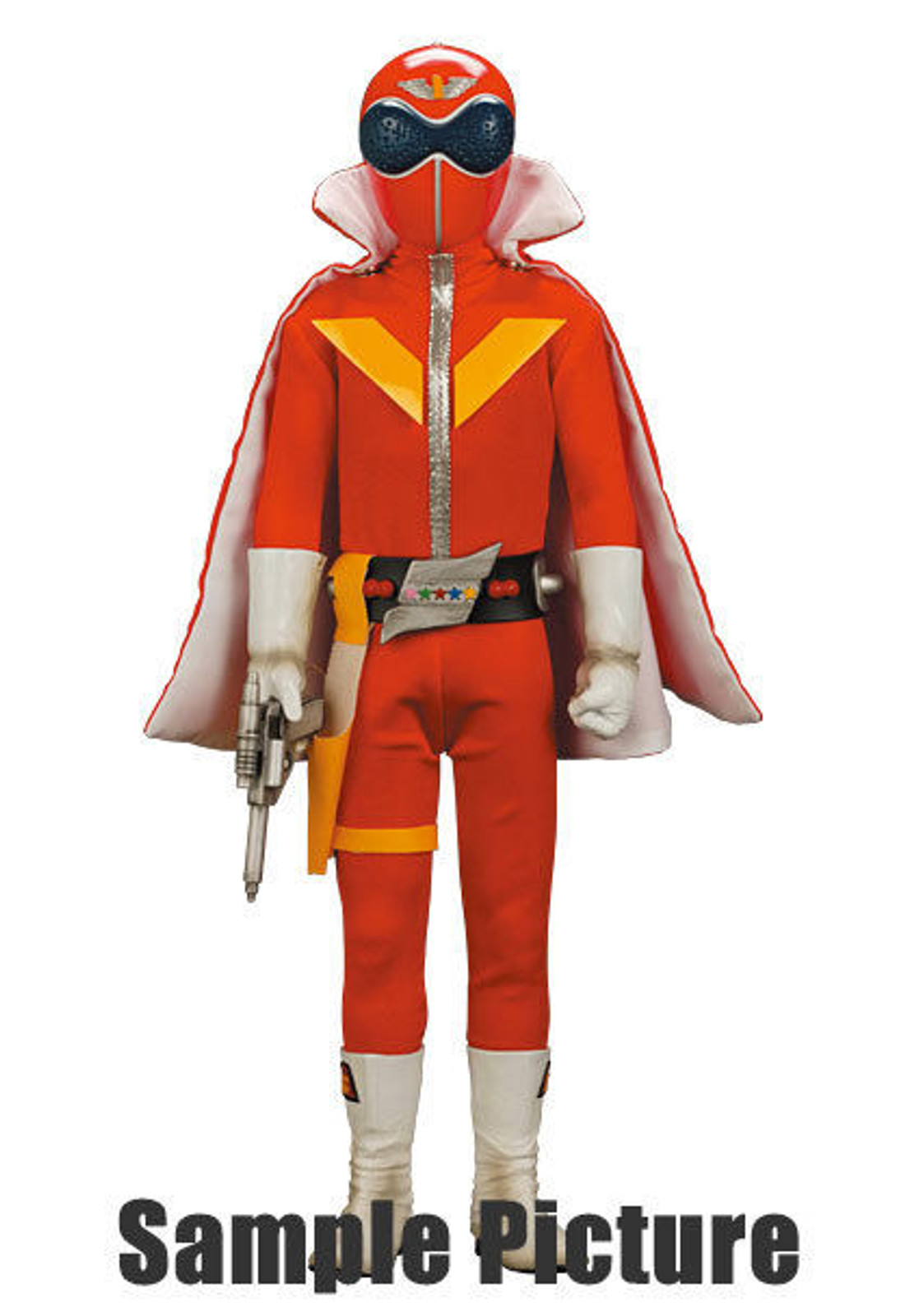 "Akaranger Goranger Red Figure 15"" RAH-450 Medicom Toy JAPAN TOKUSATSU"