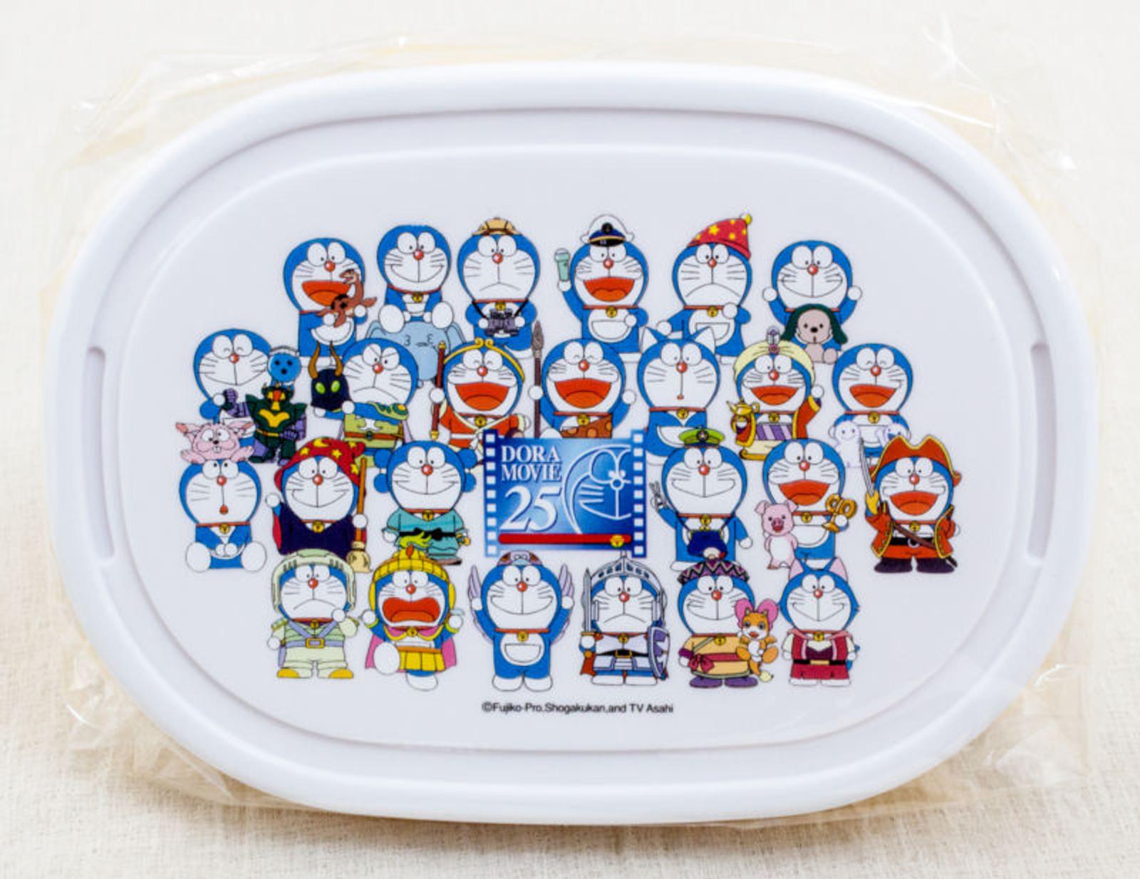 Doraemon Lunch Box w/Bandana 25 Dora Movie Character JAPAN ANIME MANGA FUJIO