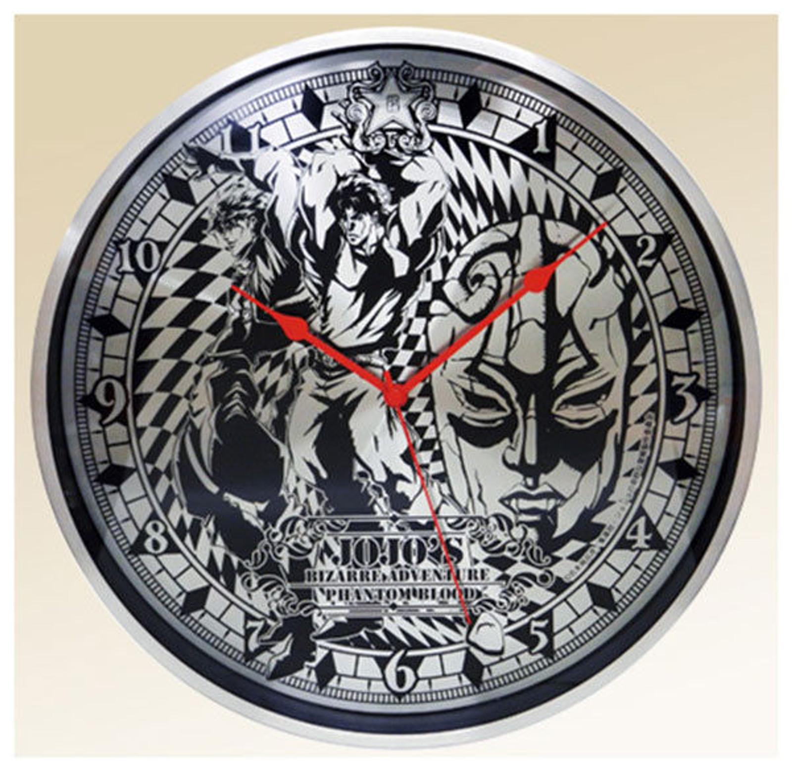 JoJo's Bizarre Adventure Full Metal Wall Clock Part.2 Jonathan Dio JAPAN ANIME