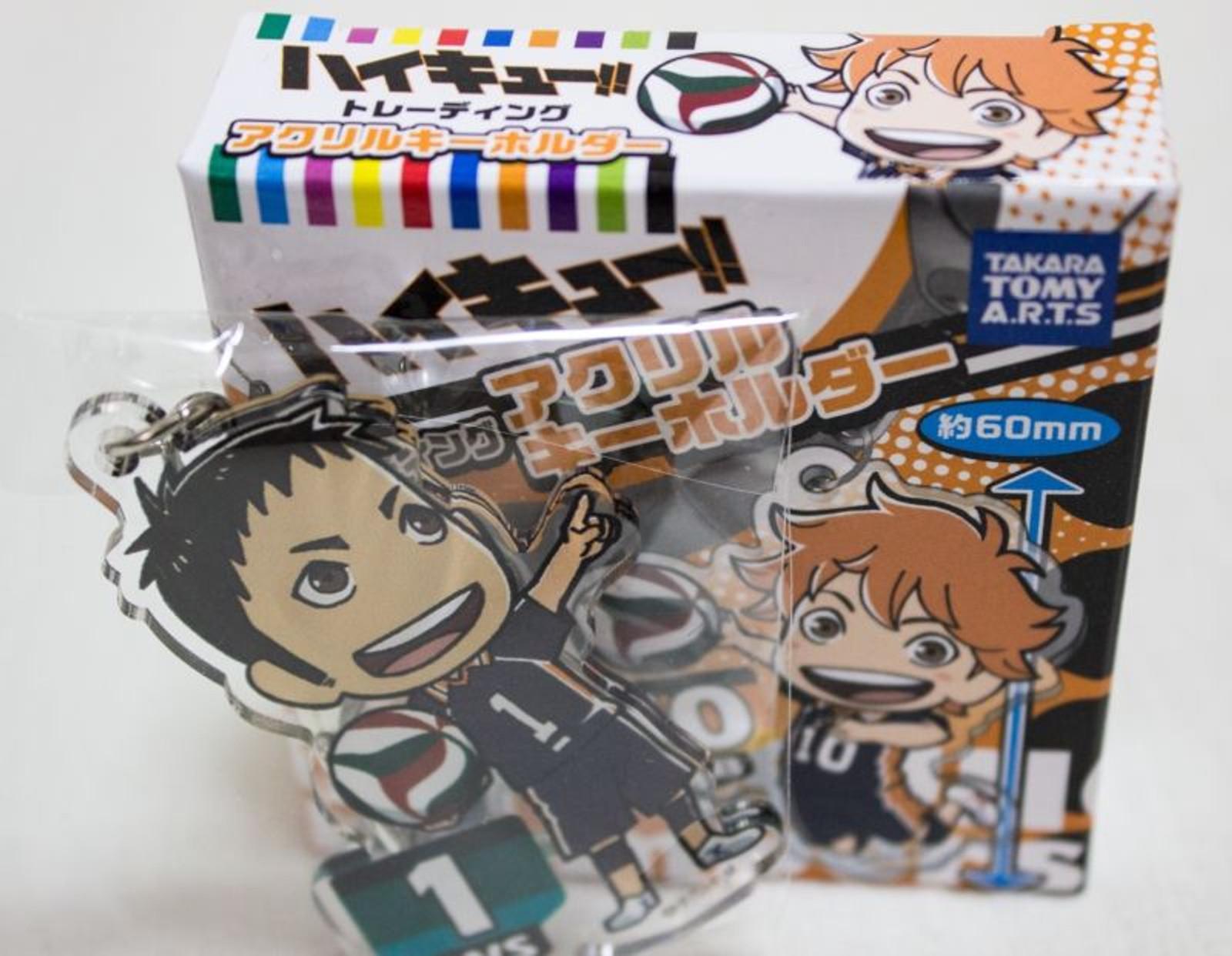 Haikyu!! Daichi Sawamura Trading Acrylic Key Chain TAKARA TOMY JAPAN ANIME