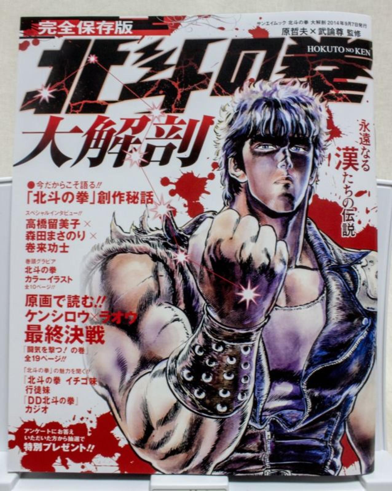 Fist of the North Star Illustration Art Magazine Hokuto no Ken JAPAN ANIME MANGA